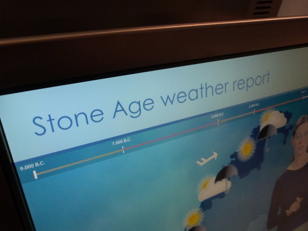 stone age wheater report